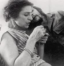 El Che amb la seva mare, Celia de la Serna