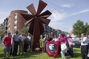 Monument al Ché Guevara, a Badalona